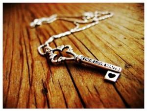 heart, key, love, silver, true love