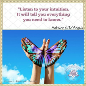 Intuition and Psychic Quotes