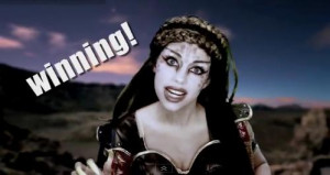 katy perry venetian princess video parody e.t. et alien song charlie ...