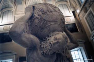 Atlas holding the sky. 7201: Atlante sostiene la volta celeste 2C AD ...