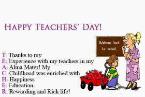 teachers day card quotes teachers day sms messages cards