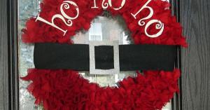 Source: http://www.etsy.com/listing/108295311/santa-ho-ho-ho-wreath ...