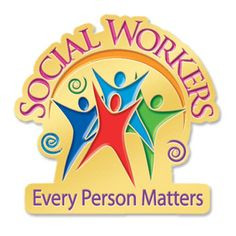 Social Workers Every Person Matters Lapel Pin & Presentation Card Item ...
