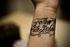 Beautiful Quote Wrist Tattoos Design Ideas