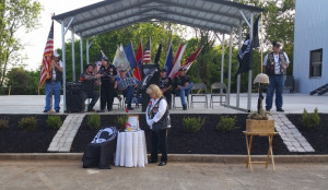 The Missing Man Table Ceremony is performed by Rolling Thunder, Inc ...
