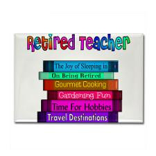 Retired Teacher Rectangle...