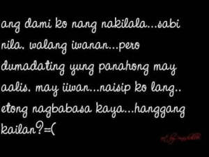 Happiness Quotes Tagalog