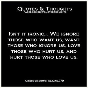 Isn't it IRONIC.....?
