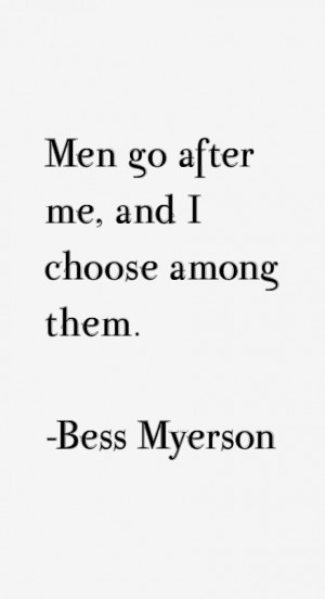 Bess Myerson Quotes & Sayings