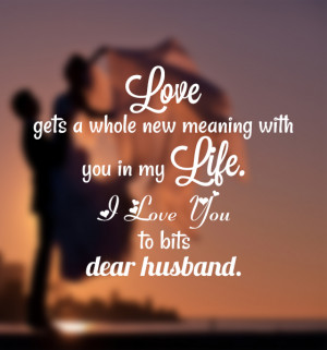 Images of Love Quotes for Husband