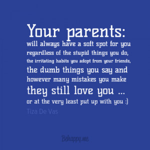 ... tags for this image include: Best, parents, quotes and true love