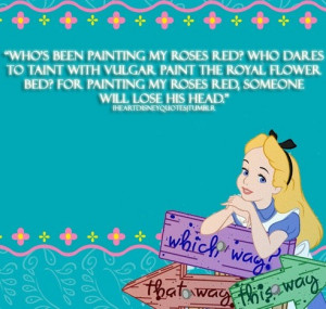 Alice in Wonderland Disney Quotes Mad Hatters Alice In Wonderland