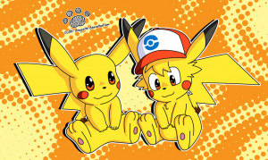 Pikachu And Ash Love Drawing Old drawing ash and pikachu