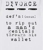 Funny Divorce Lawyer Sign