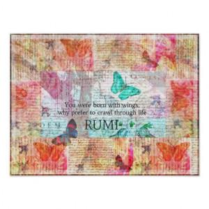 Rumi quote quotation Spiritual, Inspirational Poster