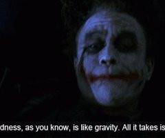 Orig Batman Gravity Joker...