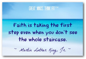 Faith Quote by Martin Luther King, Jr.