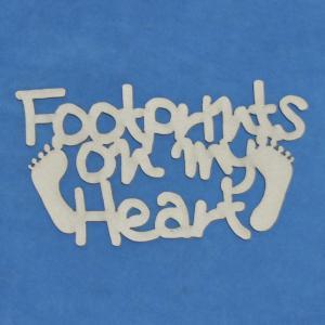 Footprints on my Heart - Word