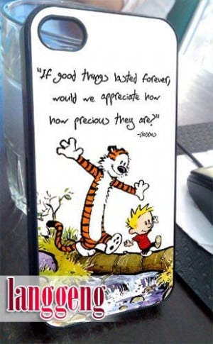 calvin and hobbes quotes iphone 4 4s 5 case by langgengstore $ 13 50