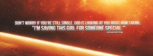 Facebook Cover Photos Space Quotes Dont be a hoe quote dont worry