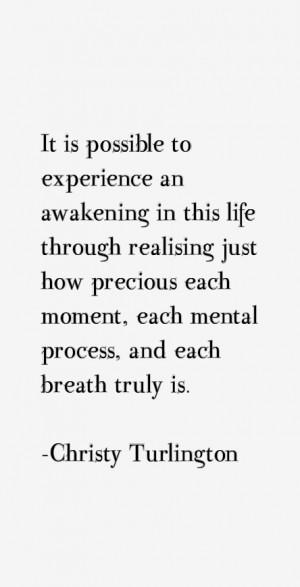 Christy Turlington Quotes & Sayings