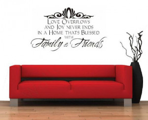Family & Friends Family QuoteBlessed Love Joy Wall by iTreasury, $10 ...
