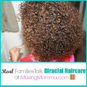 Real Families Talk Biracial Haircare {Momsoap's Curly Girl}