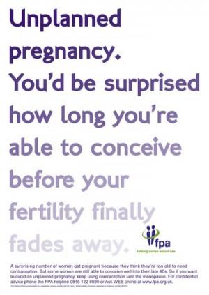 Unplanned Pregnancy.