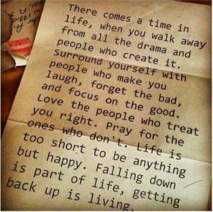 Just keep walking. Todo pasa.