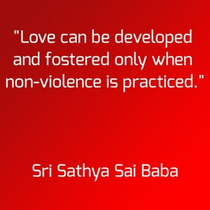 Radio Sai: Quote of the Day #quoteoftheday #quote #love #spiritual # ...
