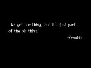 The Wire - Title Quote #45 Zenobia