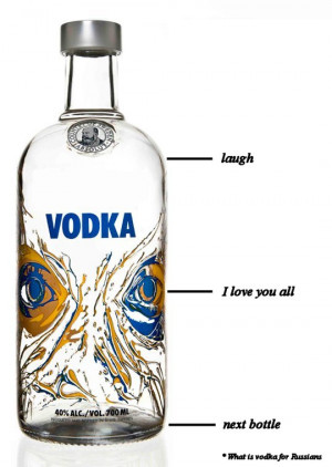 What is vodka for Russians - Image