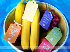 cami- basket of sweet love- fruit with tags