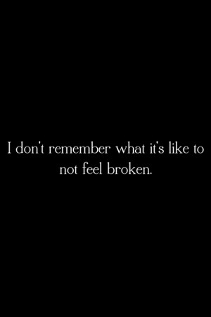 Black and White life depressed sad quotes Typography pain hurt broken ...