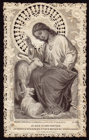 am the good shepherd i know my sheep and my sheep know me