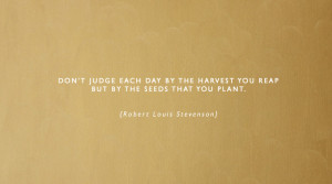 of seeds , but in a completely different context, I thought this quote ...