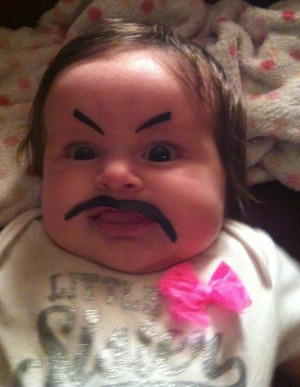 Drawing Eyebrows on Babies Is the Internet's Newest Hobby—It's Both ...
