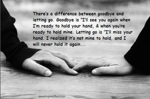 holding on and letting go breaking up quotes quotes about moving on ...