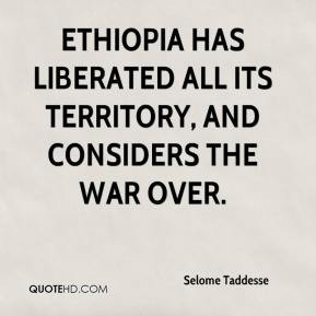 Ethiopia Has Liberated All Its Territory And Considers The War Over