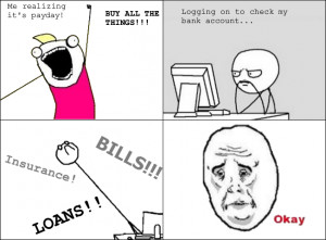 Excitement of Payday..... Ends So Soon. | LOL Heaven