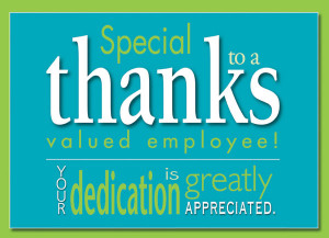 employee appreciation a2 n 0515 a77k ty ku send special thanks to your ...