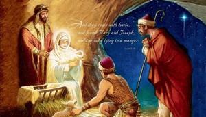 Jesus Christ Born Wallpaper Nativity ipad wallpaper (for