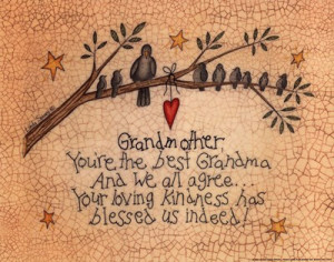 Grandmother You're The Best Grandma