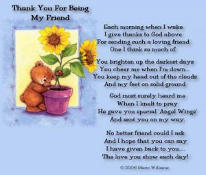 thank you for being there quotes