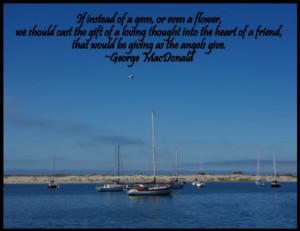 George MacDonald Quote…