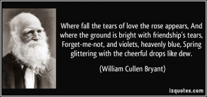 Tears of Love Quotes