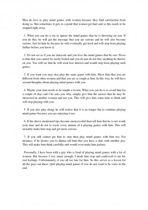 Stop Playing Mind Games Quotes 7 tips to make him stop playing mind ...