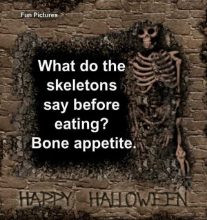 Funny Quotes with Skeletons