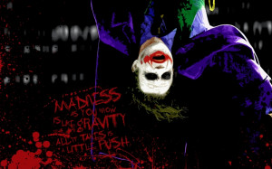 ... Quotes The Joker Batman The Dark Knight: Lurid Wallpaper HD Joker