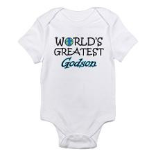 World's Greatest Godson Infant Bodysuit for